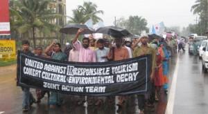 Kerala marcha contra el turismo irresponsable